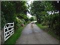 SW5934 : Byway towards Truthwell Farm by JThomas