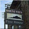 SW4931 : Sign for the Mount View public house, Longrock by JThomas