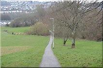 SX4957 : Footpath, Eggbuckland by N Chadwick