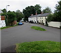 ST2281 : Junction in Old St Mellons, Cardiff by Jaggery