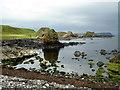 D0345 : Rock reflection, Ballintoy by Kenneth  Allen