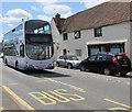 ST6979 : X49 double-decker, Westerleigh Road, Westerleigh by Jaggery