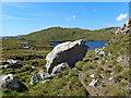 NB0316 : Erratic Boulder above Loch nan Uidhean by Marc Calhoun