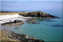 NR3890 : A swim at Cable Bay, Colonsay by Julian Paren