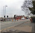 SJ9295 : New traffic lights on Hyde Road by Gerald England
