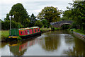 SJ6151 : Llangollen Canal west of Stoneley Green, Cheshire by Roger  Kidd