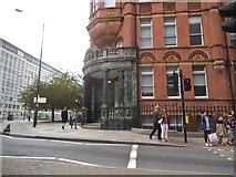 TQ3180 : Stamford Street at the junction of Waterloo Bridge Road by David Howard