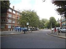 TQ3479 : Flats on Southwark Park Road by David Howard