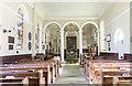 SK7565 : Interior, Church of the Holy Rood, Ossington by Julian P Guffogg