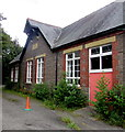SO2414 : Former canalside primary school, Gilwern by Jaggery