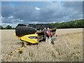SJ6679 : Farm machinery by Anthony O'Neil