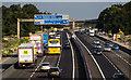 SJ7465 : M6 Motorway by Peter McDermott