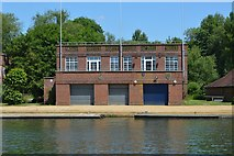 SP5105 : Oxford University Boathouse by N Chadwick