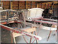 SP9315 : Old Farm Carts at Pitstone Green Museum by Chris Reynolds