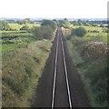 NS4042 : Glasgow to Kilmarnock railway by Richard Webb