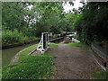 SP1866 : Approaching Yarningale aqueduct by Derek Harper