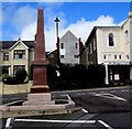 SM9005 : Belgian War Memorial, Milford Haven by Jaggery