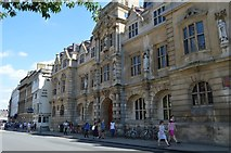 SP5106 : The Rhodes Building, Oriel College by N Chadwick