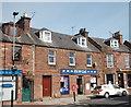 NJ7249 : Shop, High Street, Turriff by Bill Harrison