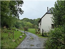 SS5402 : Bridleway passing house at Essworthy by David Smith