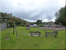 SS5404 : Children's playground, Hatherleigh by David Smith