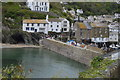 SX2150 : Polperro Harbour Wall by N Chadwick