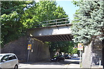 SU8693 : Railway Bridge, Priory Rd by N Chadwick