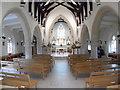 SU8799 : Interior of Holy Trinity Church, Prestwood by David Hillas