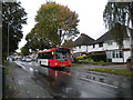 SJ8901 : Bus on Pendeford Avenue, Blakeley Green by Richard Vince