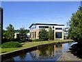 SJ8647 : New office premises near Etruria, Stoke-on-Trent by Roger  Kidd