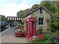 TL1597 : Overton Station on The Nene Valley Railway by Richard Humphrey