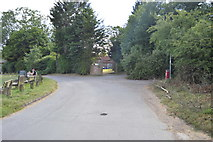 SU8495 : Plomer Green Lane by N Chadwick