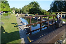 SP4408 : Eynsham Lock by N Chadwick