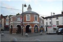 SU8693 : Little Market House by N Chadwick