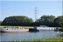 SP4509 : Moored on the Thames by N Chadwick