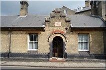 TL4558 : King Street Almshouses by N Chadwick