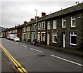 SS9497 : Long row of houses, Ynyswen Road, Ynyswen by Jaggery