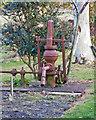 TM4669 : Water Pump in Mount Pleasant Farmyard, Dunwich by Roger Jones