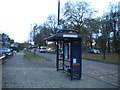 SP1182 : Greenwood Avenue bus stop, Acock's Green by Richard Vince