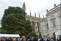 TL4458 : King's College Chapel by N Chadwick