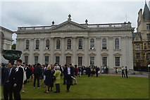 TL4458 : The Senate House and Lawn by N Chadwick