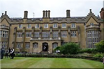 TL4458 : Sidney Sussex College - Great Hall by N Chadwick
