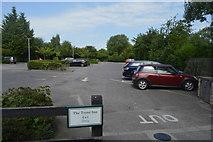 SP4809 : Car park, The Trout Inn by N Chadwick