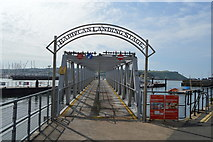 SX4853 : Barbican Landing Stage by N Chadwick