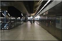 TQ3780 : Canary Wharf Underground Station by N Chadwick