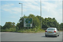 SP4806 : Botley Interchange by N Chadwick