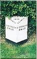 SJ7958 : Old Milepost by J Higgins