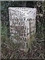 SJ4950 : Old Milepost by C Minto