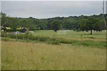 TQ3328 : Sports pitches, Ardingly College by N Chadwick