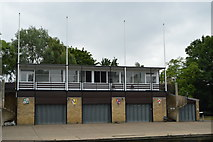 TL4559 : Corpus Christi and Sidney Sussex Boathouse by N Chadwick